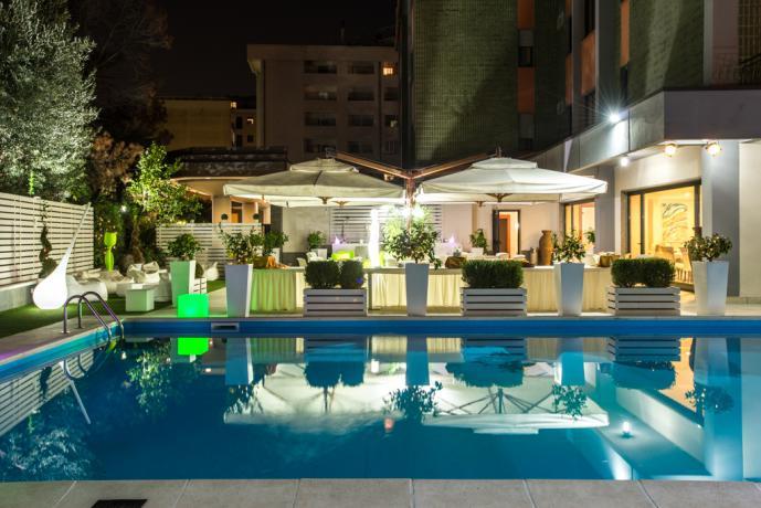 Camere a 4stelle in Calabria, piscina esterna, solarium
