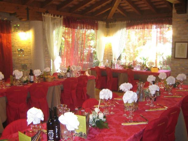 Cerimonia elegante all'hotel di Rivignano