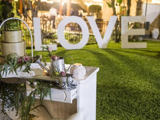 Servizio allestimento matrimoni hotel 4stelle Battipaglia