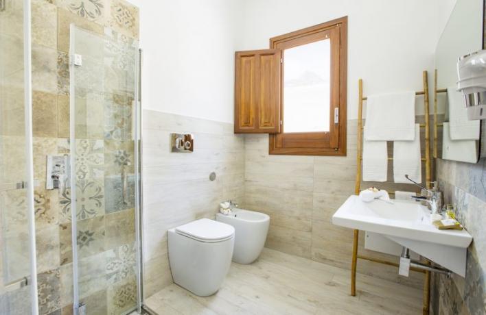 Appartamento-vacanze bagno privato asciugamani e doccia Castelluzzo