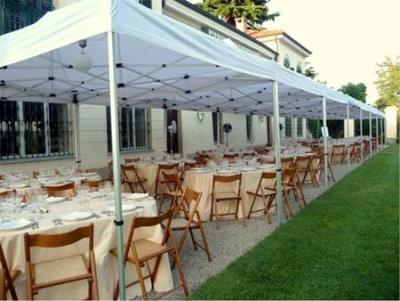 Gazebo professionale grandi dimensioni per catering