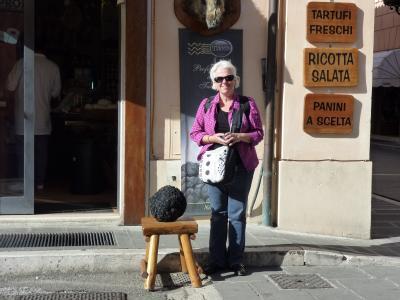 Tartufi da guinness in Umbria