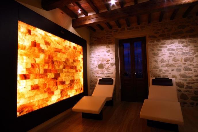 Possibilità di massaggi in centro benessere ad Assisi
