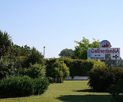 Water Amusementpark Gulliverlandia near the sea, Lignano Italy,