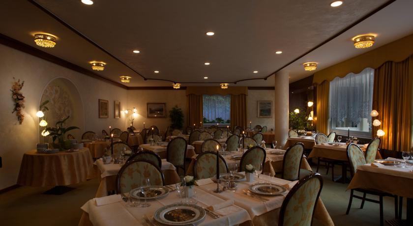 Sala Ristorante, Hotel Molveno centro