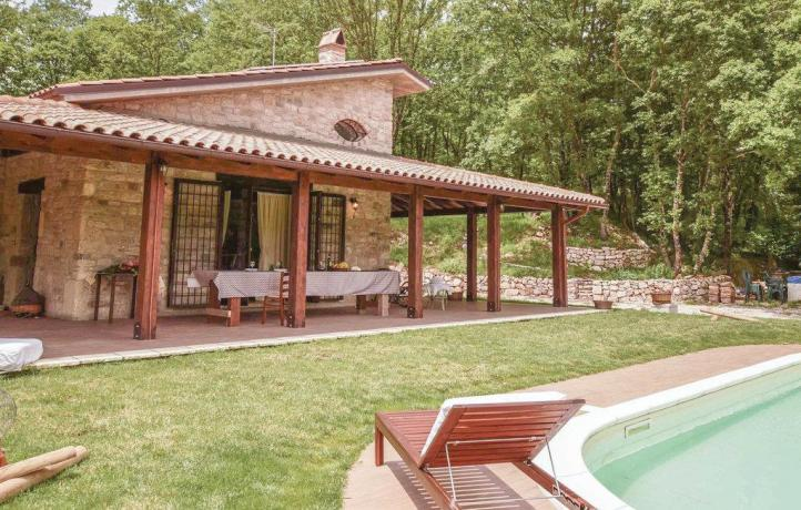 Casa vacanze giardino e piscina a San Lupo
