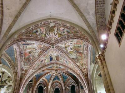 Struttura interna di Santa Chiara