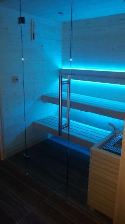 Sauna in Hotel e SPA in Toscana