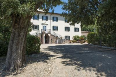 La villa principale con Reception e ristorante