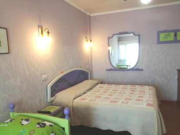 Camera Matrimoniale in Trilo con Bagno privato