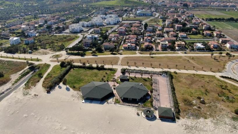 Villaggio davanti alla spiaggia Isca sullo Ionio