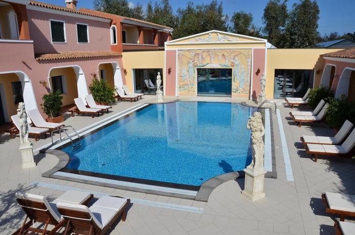 Resort 4 stelle con Piscina a Orosei