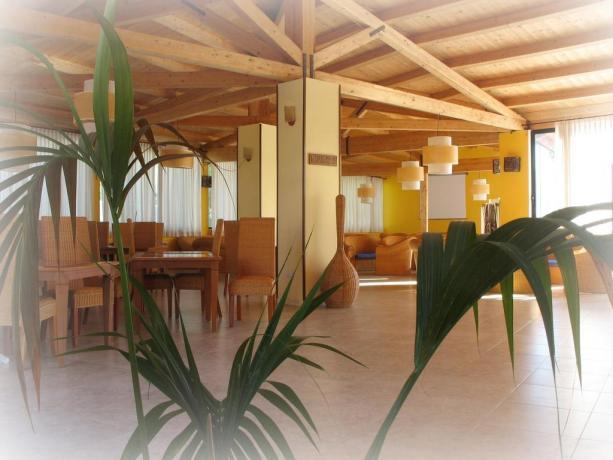 Ristorante con menù neonati hotel Capo Piccolo