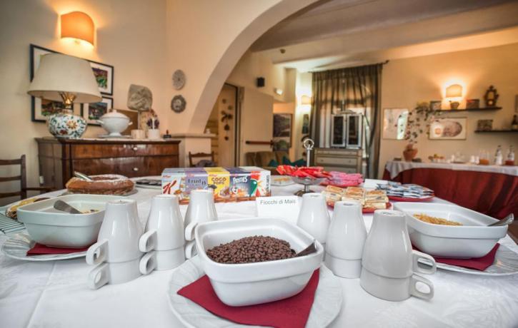 Colazione ad Assisi al Country House Assisana
