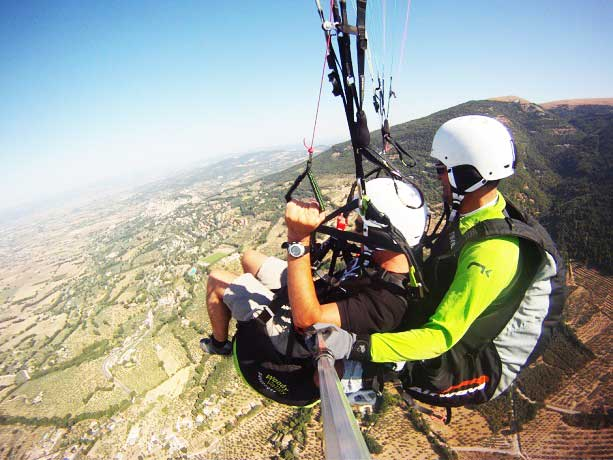 Smartbox Parapendio Biposto in Umbria