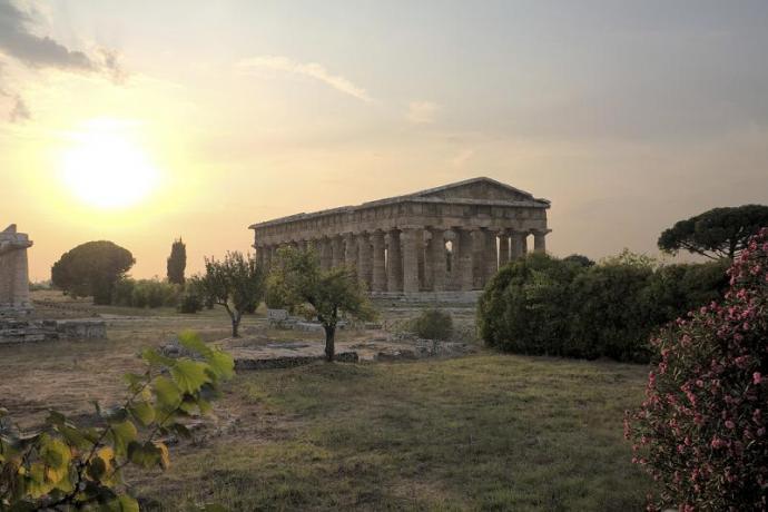 Villaggio per Famiglie nel Cilento escursione a Paestum