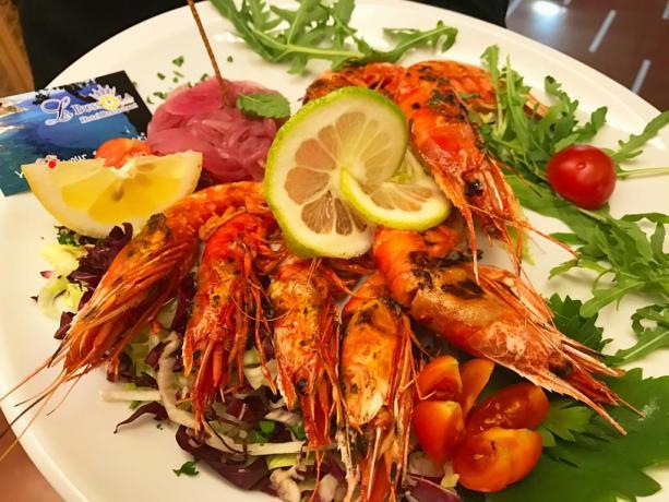Ristorante con cucina tipica in Hotel a Tropea