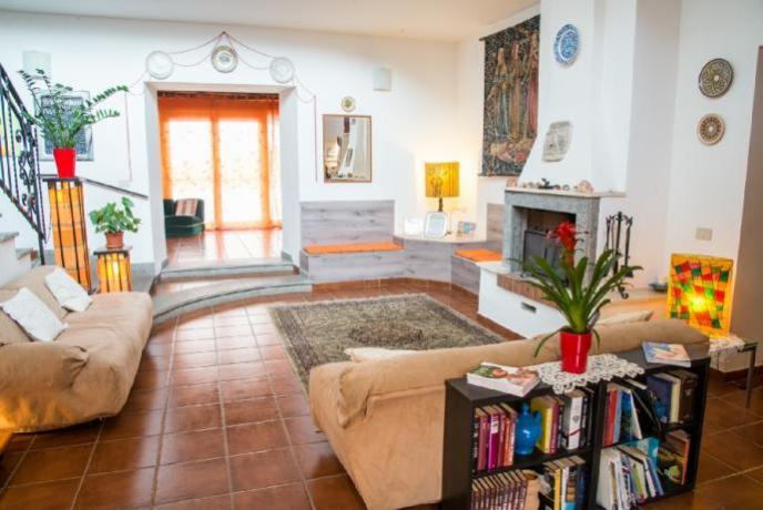 Appartamento soggiorno a pochi km da Roma
