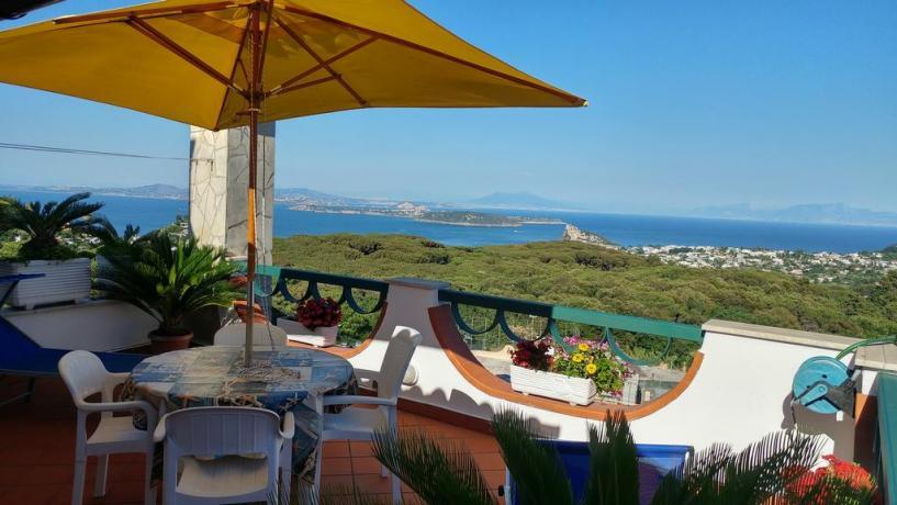 A Barano d'Ischia casa vacanze terrazza vista mare