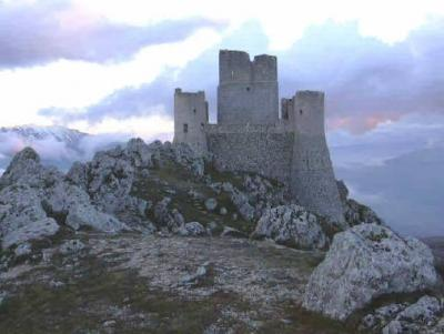 Castels and Ancient Monuments near L´Aquila