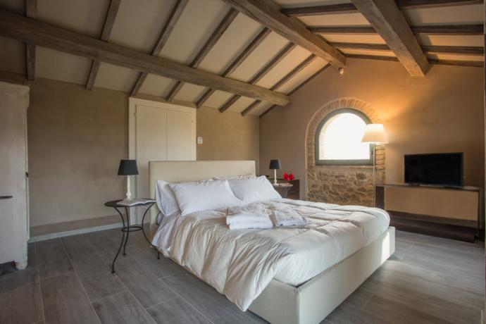 camera matrimoniale Villa Vacanza il Granaio