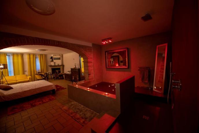 suite seduction x weekend perfetto nelVerde Montecastrilli