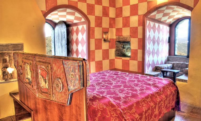 Camera sulla torre del Castello