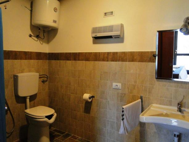 Bagno Camera appartamenti agriturismo bevagna