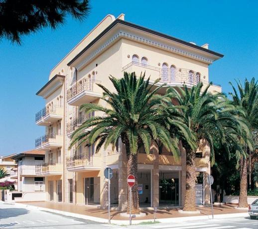 La depandance dell'Hotel 3 stelle Adriatico, camere familiari