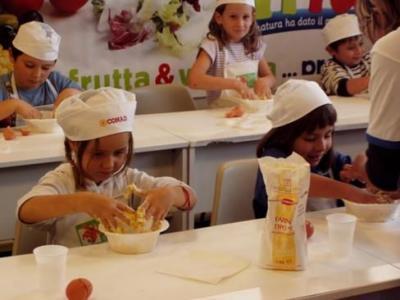 corso di cucina anche per i bimbi