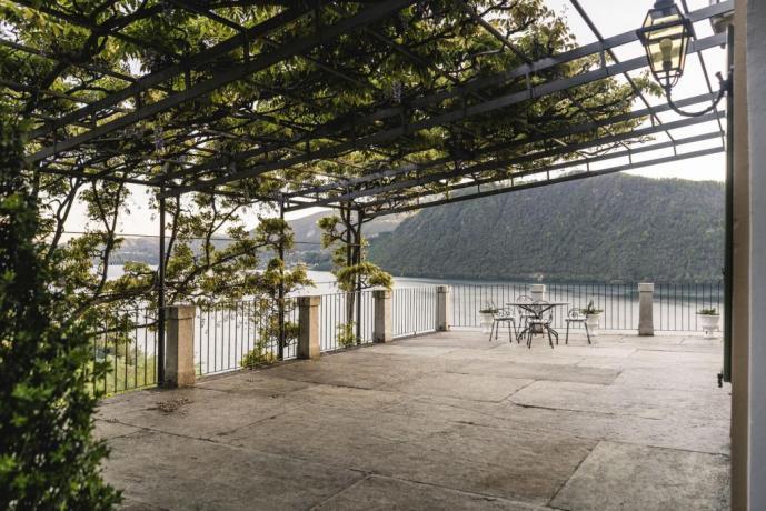 Terrazza privata appartamento Giuseppe