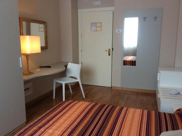 Comode camere in hotel con benessere Umbria