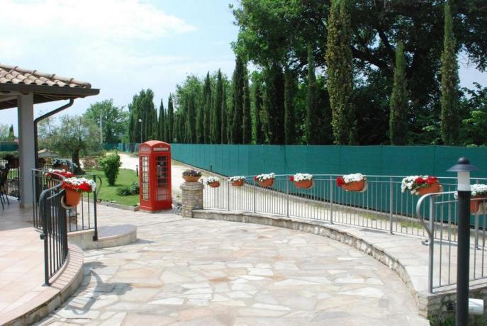 Appartamenti con portico ad Assisi