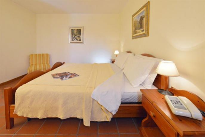 Camera matrimoniale riscaldata Hotel a Chatrian