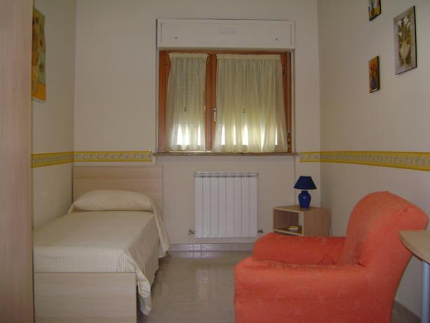 Camera singola in B&B a Benevento
