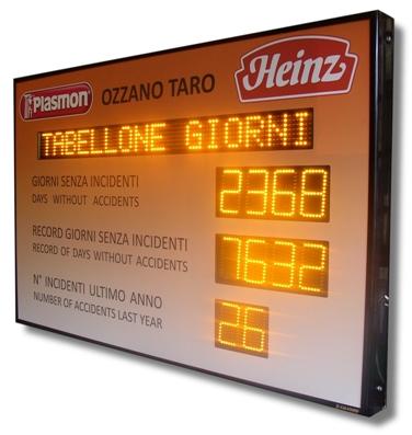 Produzione Vendita tabelloni a led custom