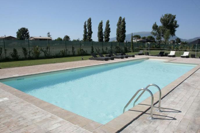 Agriturismo Umbria con piscina + Solarium