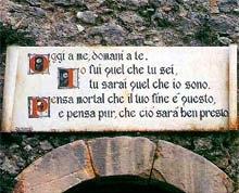 L'ingresso della grotta