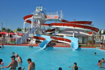 Hotels near the waterpark Beach Village in Riccione