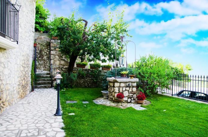 B&B romantico a Gaeta con giardino