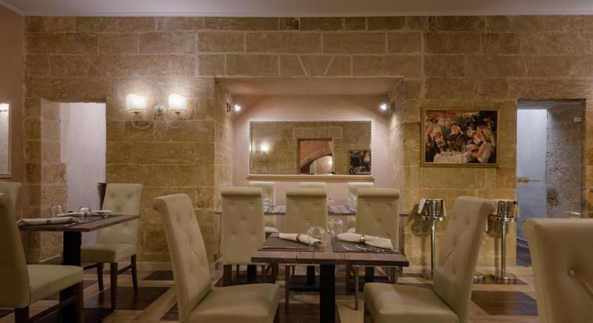 Ristorante dell'hotel in Puglia