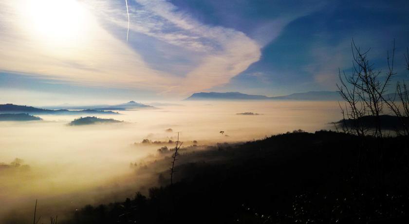 Vista panoramica del B&B a Genazzano