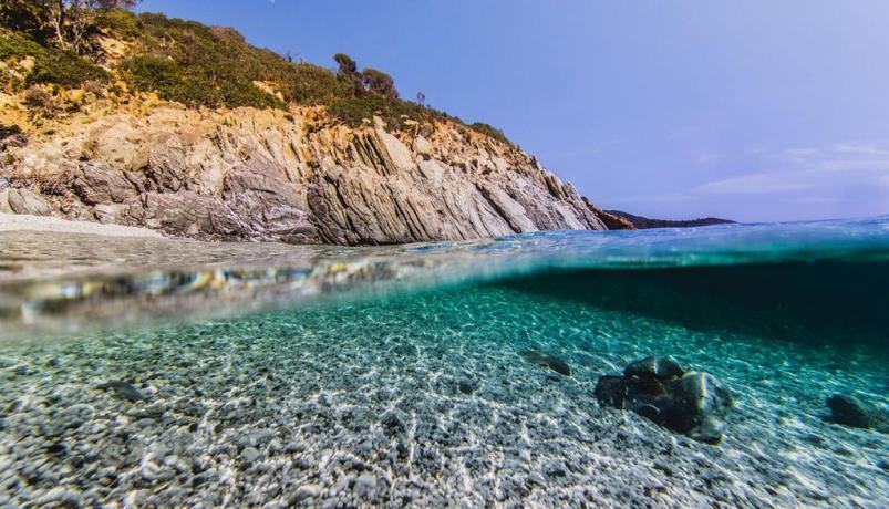Mare a 700 metri dal Blu-Boutique in Sardegna