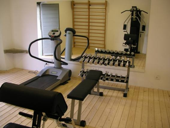 Gym into the rural home