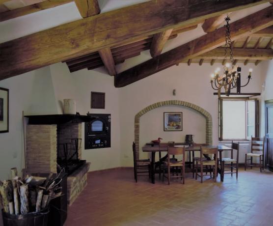 Dependance in castello medievale Gualdo Cattaneo