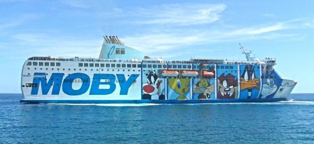 Prezi Traghetti Moby lines per la Sardegna
