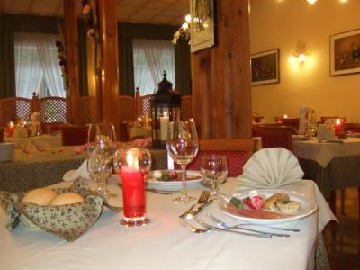 Ristorante romantico, Hotel Val di Sole
