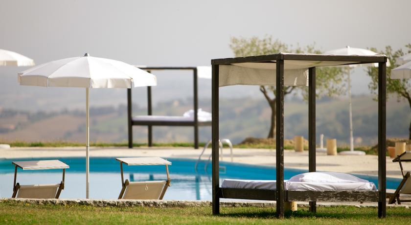 Vista dallo Charme & Relax con Riserva privata