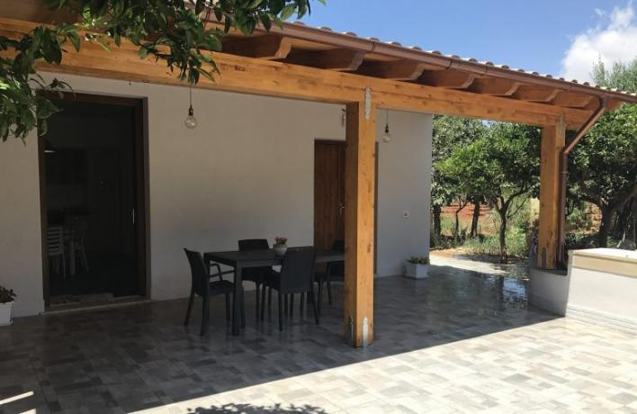Appartamento vacanze zona tranquilla San-Vito-lo-Capo vicino mare
