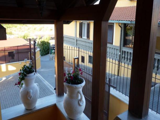 Terrazza hotel low cost vicino Roma